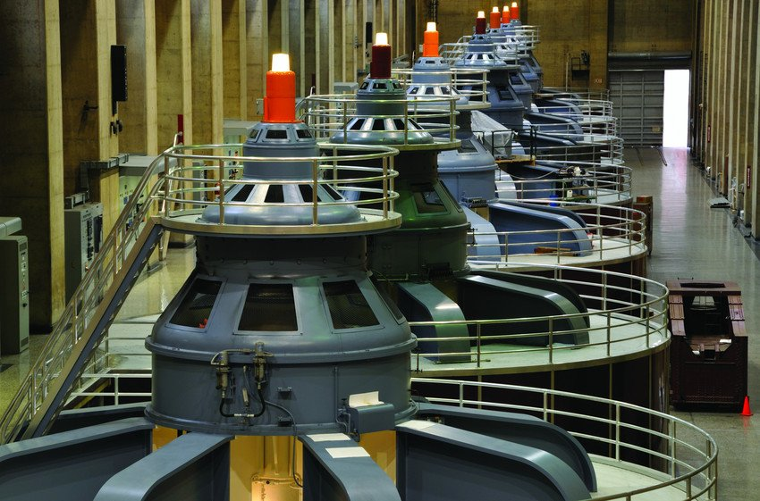 Turbines in de Hoover Dam
